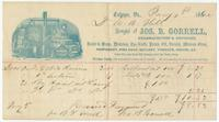 [Collection of billheads of pharmaceutical firms and related businesses, United States, 1852-1879]