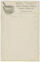 [Collection of illustrated blank letterheads and a billhead of pharmaceutical firms in the United States]