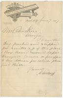 [Business correspondence of New York chemist Charles Rice]