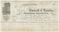 [Collection of billheads of pharmaceutical firms and related businesses, United States, 1852-1878]
