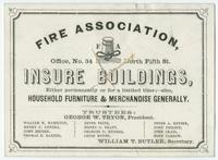 Fire company ephemera collection