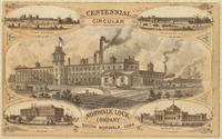 Centennial circular. Norwalk Lock Company. South Norwalk, Conn.