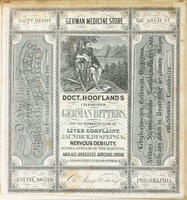 Doct. Hoofland's celebrated German bitters, for the permanent cure of liver complaint, jaundice, dyspepsia, nervous debility, asthma, disease of the kidneys, and all diseases arising from a disordered liver or stomach