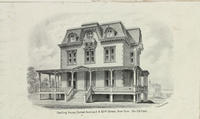 Dwelling house, corner Avenue A & 85th Street, New York.