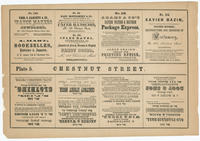 [Plate 5 and advertisements from Rae's Philadelphia pictorial directory & panoramic advertiser. Chestnut Street, from Second to Tenth Streets]