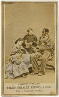 Learning is wealth. Wilson, Charley, Rebecca & Rosa, slaves from New Orleans.