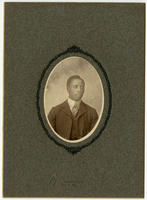 [Unidentified young African American man]