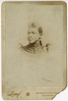 [Unidentified young African American woman]