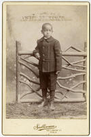 [Unidentified African American boy in sailor suit]