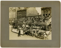Founder's Week, Industrial Day Oct. 7th 1908. Philadelphia Brewing Co.'s float. By courtesy of Philadelphia liquor dealers journal