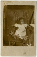 [Unidentified African American baby boy]