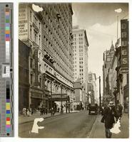 [Chestnut Street looking east from below Fifteenth Street, Philadelphia]