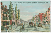 High Street in 1799 at present Market Street postcards.