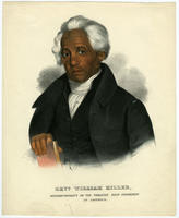 Revd. William Miller, Superintendant of the Wesleyan Zion Connexion in America