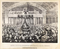 Daniel Webster addressing the United States Senate