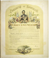Proclamation of Emancipation. By the President of the United States of America