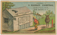 "Creditor of Johnsing & Skinner--""I'll hab a hundred and fifty cents on de dollar, or I'll lick de hul firm."""