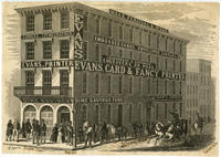 [Evans, Card & Fancy Printer. Office, Fourth St. below Chestnut, Philadelphia]