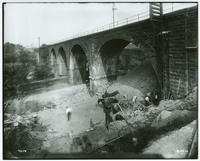 Pennsylvania Rail Road Co. connecting bridge at Girard Ave.