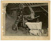 "Link-Belt type ""CF"" loader furnished to Baugh & Sons Company, Philadelphia, for handling acid phosphate to power operated buggies."