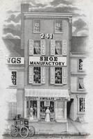 [J. Willis, shoe manufactory, 241 Arch Street, Philadelphia] [graphic].