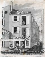 [J. Hartman's biscuit bakery, No. 90 Penn Street, Philadelphia] [graphic] / Executed on stone by W. H. Rease, No. 17 1/2 S. 5th. St.