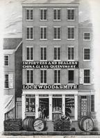 [Lockwood & Smith, importers and dealers china, glass and Queensware, 7 South Fourth Street, Philadelphia] [graphic] / Drawn on stone by W. H. Rease, 17 So. 5th. St.