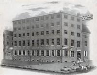 [Morocco leather manufactory, B. D. Stewart, S.E. corner of Willow Street and Old York Road, Philadelphia] [graphic].