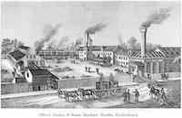 Alfred Jenks & Son's machine works, Bridesburg. [graphic].