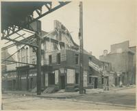 [Demolition of building, Front and Green Sts.], June 11, 1921 - B.