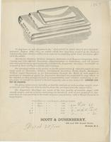 "We beg leave to call attention to the ""expansive document envelope,"" patented August 16th, 1864, an article which has long been wanted by the business community..."