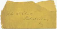 Miscellaneous manuscript items from the Rose and Leon Doret Collection of Business Ephemera.