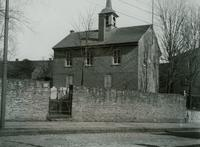 Old Concord School House. Main St. Germantown, Pa. Built 1775