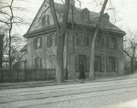 Toland House, 4810 Main St., built abt. 1740. Home of Geo. Miller, an officer of Continental army.