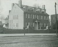 Henry House, 1760. 4908 Main St. In 1828 bought by John S. Henry father of Alex Henry thrice mayor of Phila.