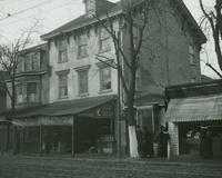 5151 Main St. Home of Phil. R. Freas and first office of the Village Telegraph, later Germantown Telegraph.