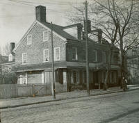Old Johnson House, N. W. Main & Washington Lane.