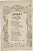 ABRAHAM'S DAUGHTER. NO. 2.
