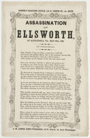 ASSASSINATION OF ELLSWORTH, AT ALEXANDRIA, VA., MAY 24TH, 1861.