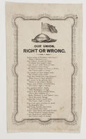 OUR UNION, RIGHT OR WRONG.
