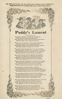PADDY'S LAMENT.