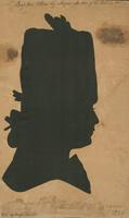 Silhouette of Major Edward Stanly