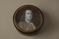 Snuffbox with Portrait of Benjamin Franklin