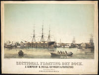 Sectional floating dry dock. J. Simpson & Neill ship wrights & proprietors Christian Street Philadelphia.