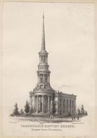 Tabernacle Baptist Church, Chestnut Street, Philadelphia.