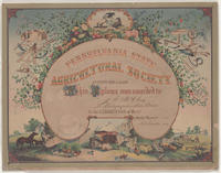 Pennsylvania State Agricultural Society [diploma]