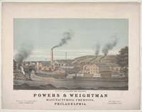 Powers & Weightman manufacturing chemists Philadelphia
