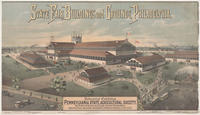 State fair buildings and grounds, Philadelphia. Industrial Exhibition Pennsylvania State Agricultural Society, North Broad Street and Lehigh Avenue, Philadelphia.