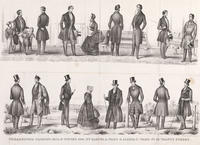 Philadelphia fashions, fall & winter 1845, by Samuel A. Ward & Asahel F. Ward, no. 62 Walnut St.
