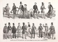 Fashions for fall and winter 1853-4 by S. A. & A. F. Ward, no. 62 Walnut St. Philadelphia, Pa.